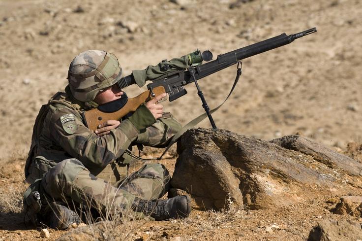 Tireur de précision. © armée de Terre #infanterie