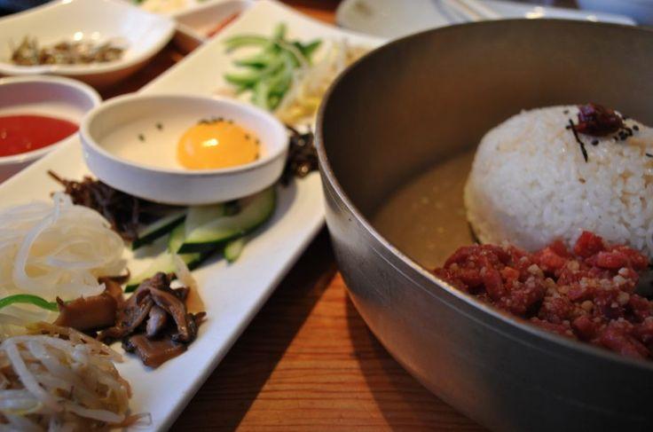 Yukhwe Bibimbap at Oo-Kook Korean BBQ
