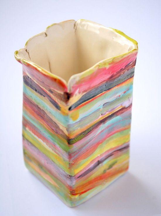 esther griffith - earthenware pot