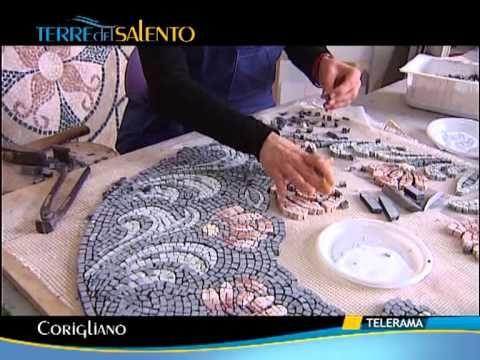 MOSAICO - LEONE - - SISAM Scuola Internazionale Studi d'Arte del Mosaico e dell'Affresco.WMV - YouTube