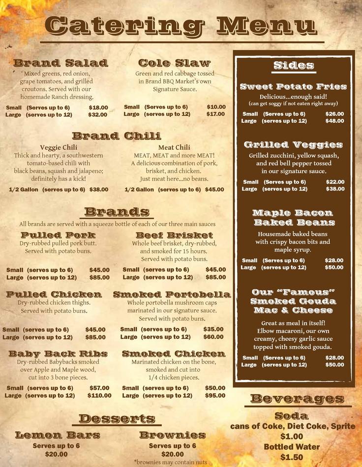 Best 25+ Food truck menu ideas on Pinterest Taco food truck - menu list sample