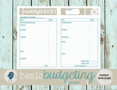 The  Best Monthly Expense Sheet Ideas On   Monthly