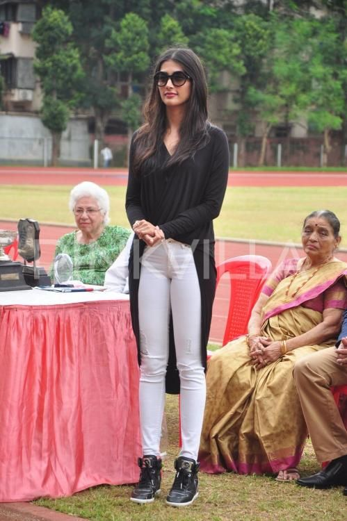 Pooja Hegde looks cute at this Sports Day event | PINKVILLA