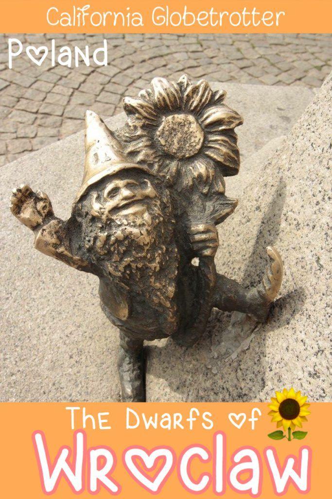 The Dwarfs of Wroclaw - The Gnomes of Wroclaw - Hunting for Dwarfs in Wroclaw - Krasnal - Wroclaw, Poland - California Globetrotter