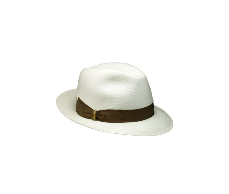 Thin panama hat. Product code: 231991 Shop it here: http://shop.borsalino.com/en/womans-collection/spring-summer/straw-hats/straw-hats-38.html