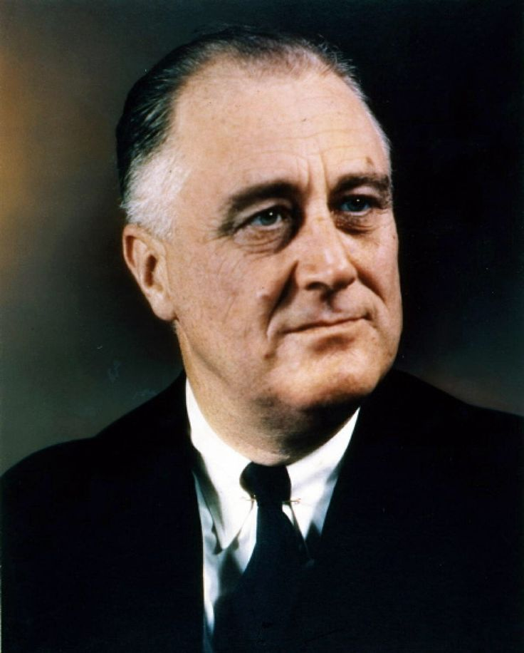 Franklin D. Roosevelt was the best President the U.S.A. has ever had (or at least he ties with Abraham Lincoln).