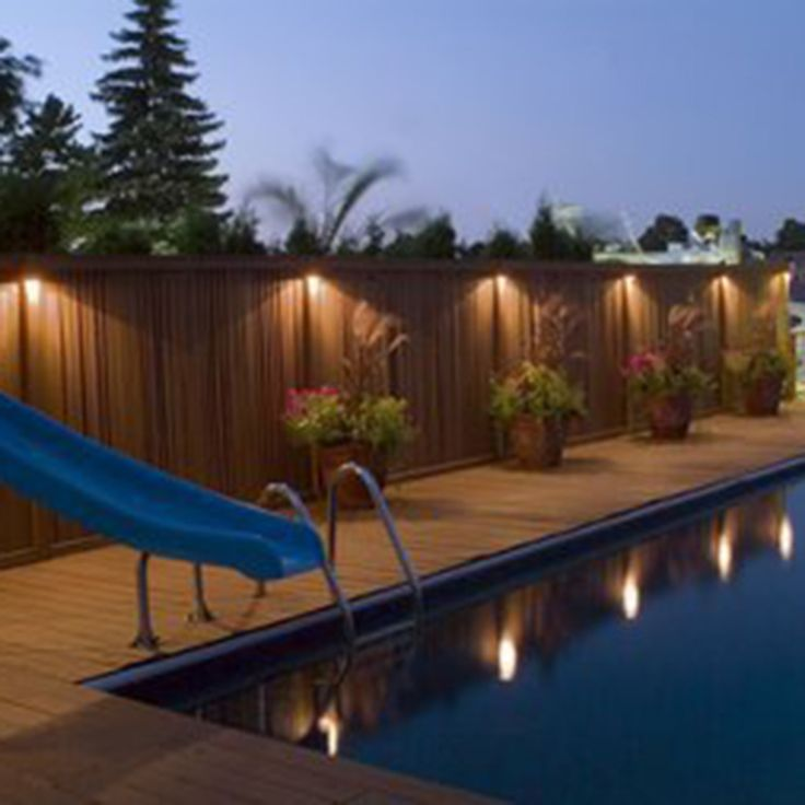 Best 25 Fence lighting ideas only on Pinterest Privacy fence