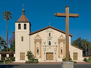 Mission Santa Clara de Asís is a Spanish mission founded by the Franciscan order in the present-day city of Santa Clara, California.