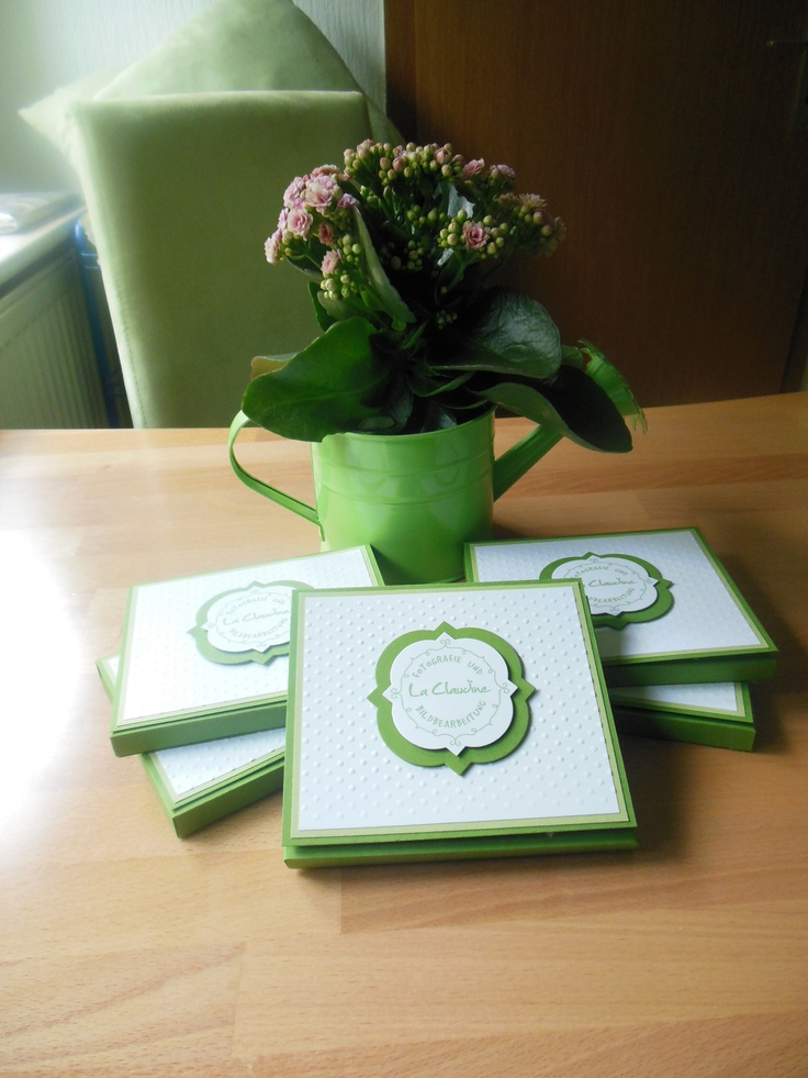 CD Boxes with logo for Photographer