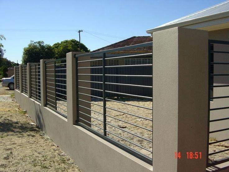 Modern Fence Design Breathtaking Modern Metal Fence Design For