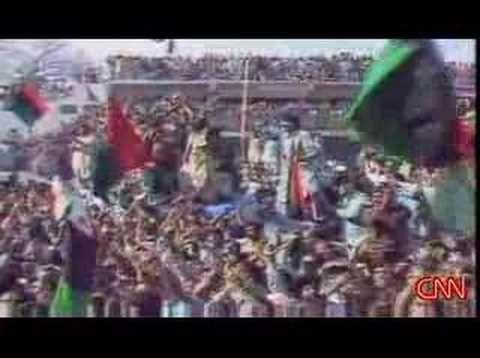 Benazir Bhutto murder at a political rally