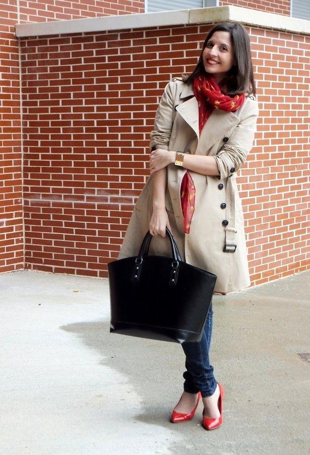 С чем носить красные туфли (фото) | Блог о рукоделии и моде