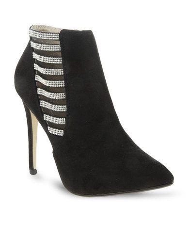 Zoom Dalili High Heel Ankle Boot Black 699