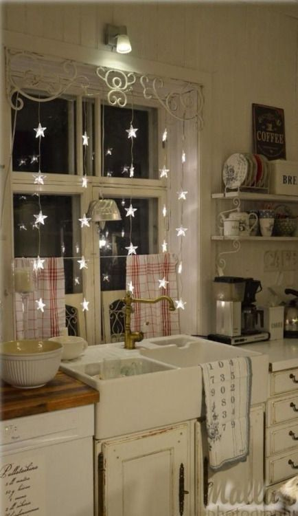 A little starlight makes doing the dishes a bit more fun. ~~ Houston Foodlovers Book Club
