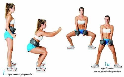 Dicas de exercícios para as pernas