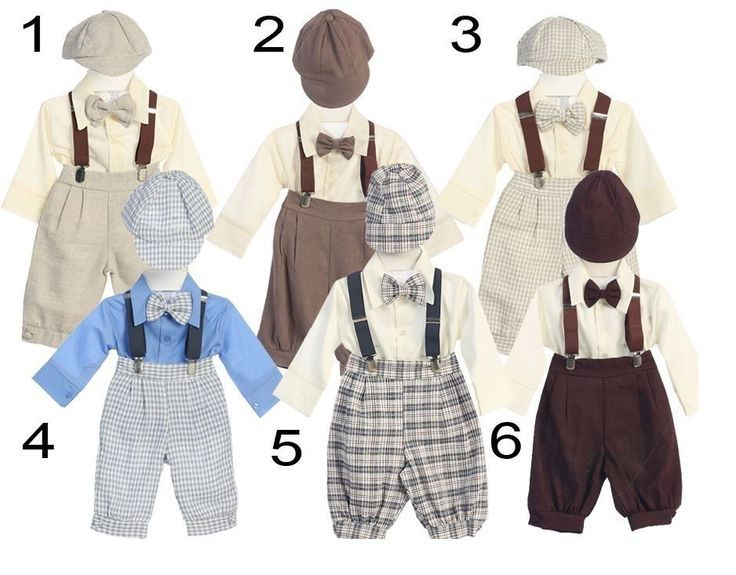 New Baby Boys Knicker Vintage Suit Outfit Christmas Easter Wedding Party Fancy #Dressy