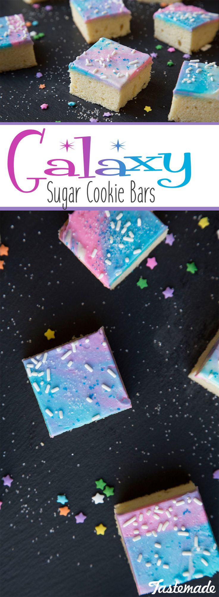 Send regular ol' dessert out of this world with this sweet and colorful treat. Super fun and colorful, perfect for parties!