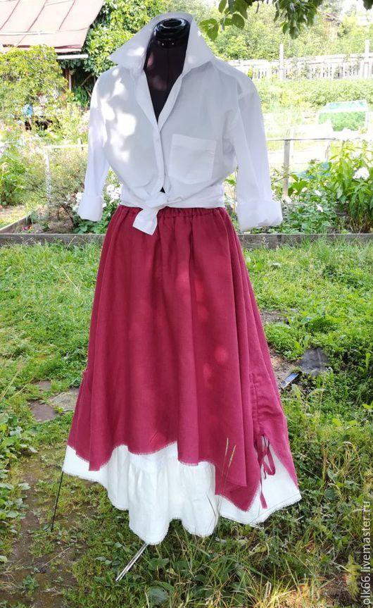 юбка бохо, льняная юбка, бохо-юбка льняная, юбка в бохо стиле, льняная одежда, бохо стиль, длинная бохо юбка, длинная льняная юбка, длинная юбка, юбка с подъюбником, нижняя юбка, летняя юбка, большие
