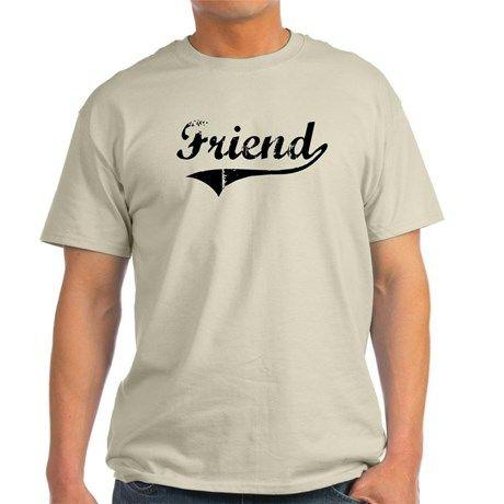 Friend (vintage) T-Shirt on CafePress.com