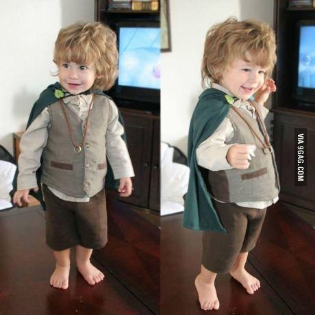 Biblo Baggins Cutest baby costume!!!!