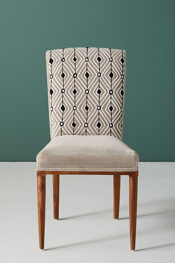 Elza Diamond Dining Chair In 2020 Dining Chairs Dining Room