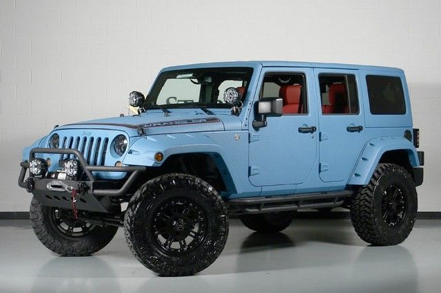 2013 Blue Jeep Wrangler - View today's top deals on used Jeep #Wrangler. Savings of up to $3300.
