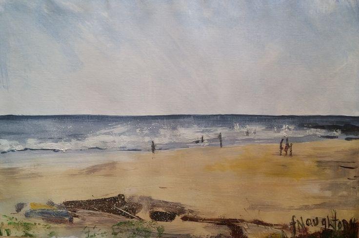 Sugar Sands on the Northumberland coast