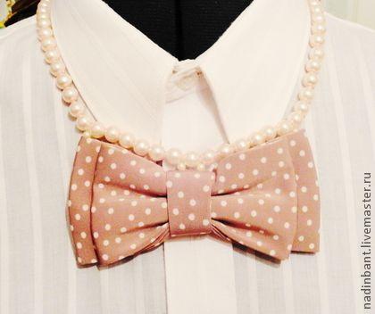 Бант Элинор - бант,галстук бабочка,бабочка на шею,украшение,подарок ручной работы