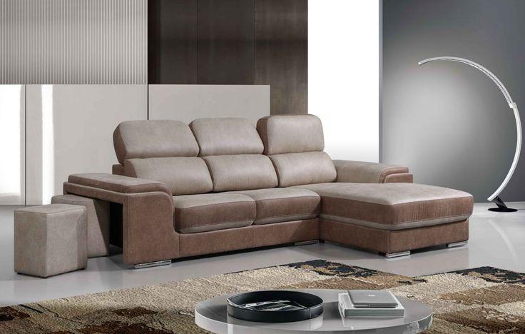 Canapé d'angle avec chaise longue, Têtière multi-positions. #agadir #maroc #canapé #salon #sejour #meubles #deco #home #interiorinspiration #interiordesign #interior #design #sofa #comfort #lifestyle #furniture #homefurniture #madeineurope #living #homedesign #interior #designlovers #homedecor