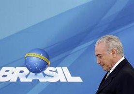 Presidente Michel Temer prometió derrotar la crisis