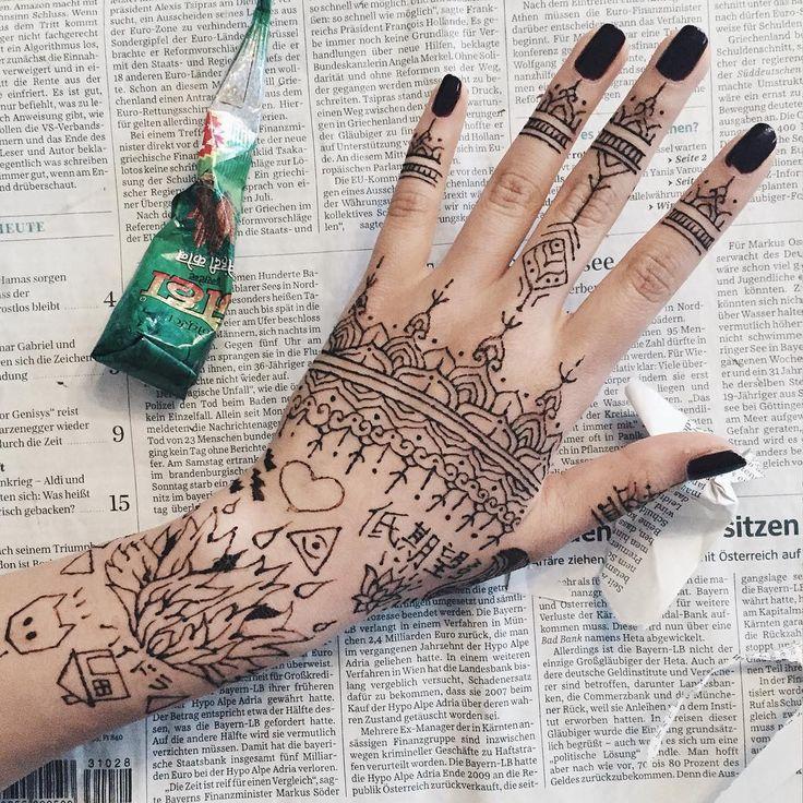 Henna verdickt haare