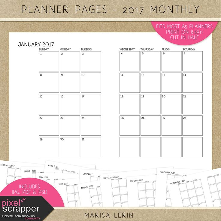 140 best Planners images on Pinterest Calendar, December and - free journal templates