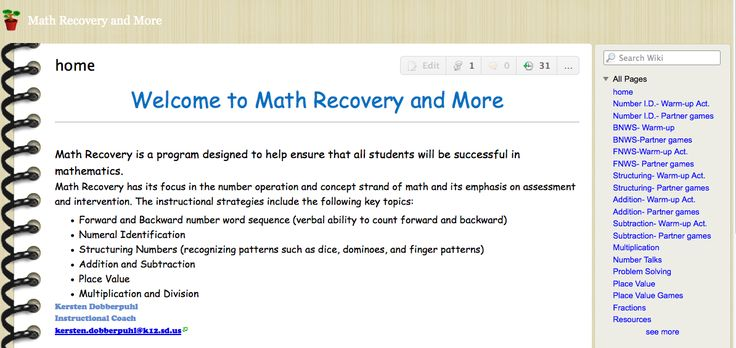 Math Recovery & More - Tons of AVMR Resources & Links