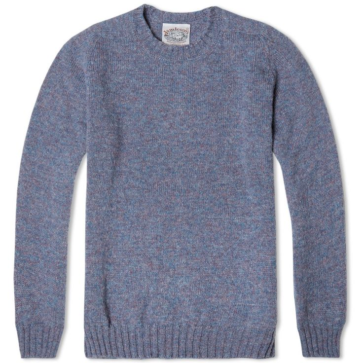 Jamieson's of Shetland Crew Neck Knit (Twilight)