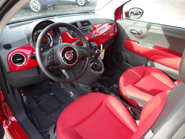 2013 FIAT 500 Pop For Sale | Wilmington NC . Fiat Pop Interior