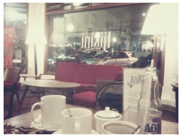 The new ways #EnjoyJakarta . Tjikini coffe shop