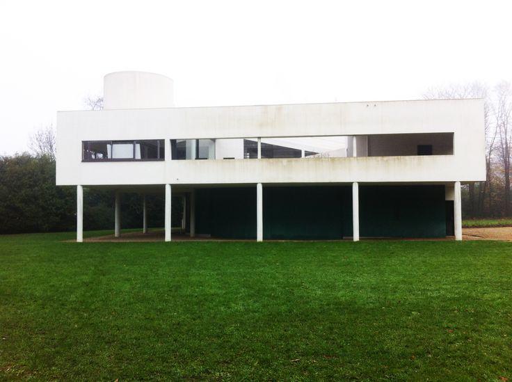 Villa Savoye_Le corbusier