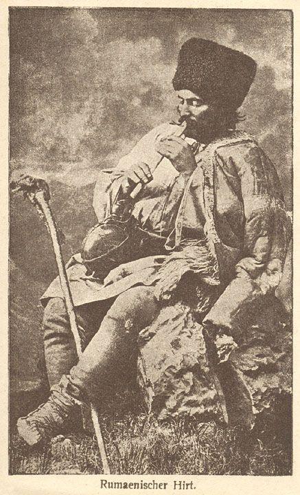 """Romanian Shepherd - Rumaenischer Hirt  Colecţia A. Bellu   Editura """"Cartea Româneascǎ""""   Bucureşti"""