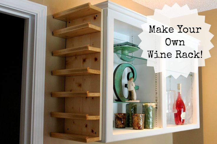 make your own wine rack woodworking projects plans