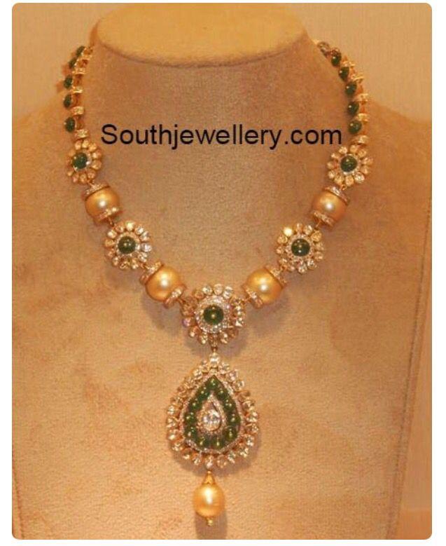 Simple 20grams south sea pearls necklace