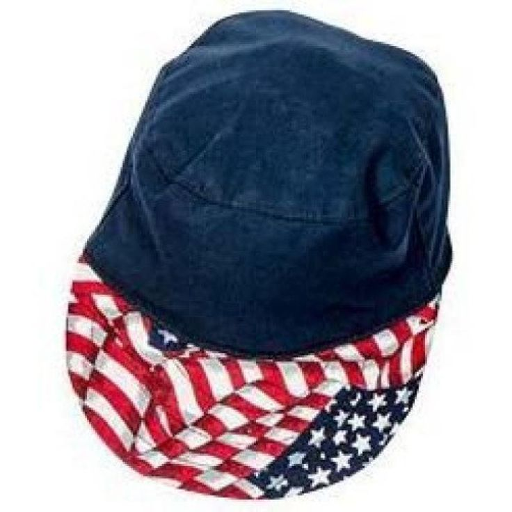 BBQ Hat -Navy/Flag Theme  Descriptions: Navy cap with Flag Theme pring   Features: One size fits most Protects head from sun while barbequing Make a great Patriotic Father's Day, 4th of July Gift 1 Year against Factory Defects