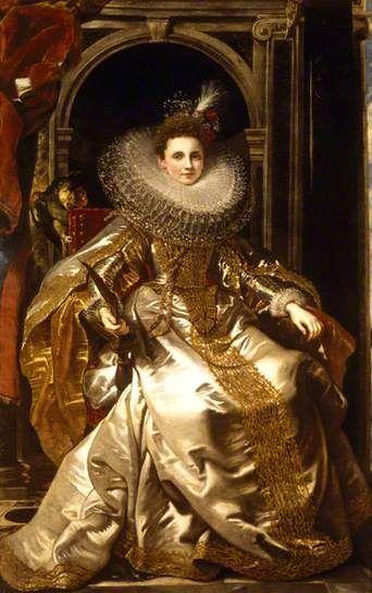 Marchesa Maria Serra Pallavicino  by Peter Paul Rubens