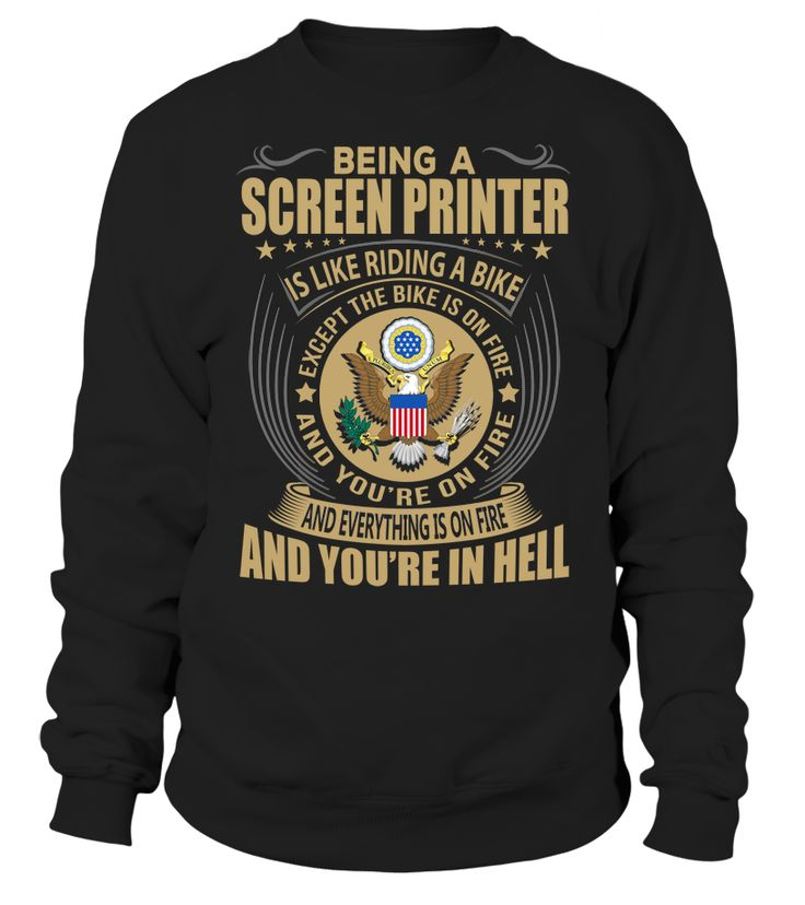 Being a Screen Printer Is Like Riding A Bike #ScreenPrinter
