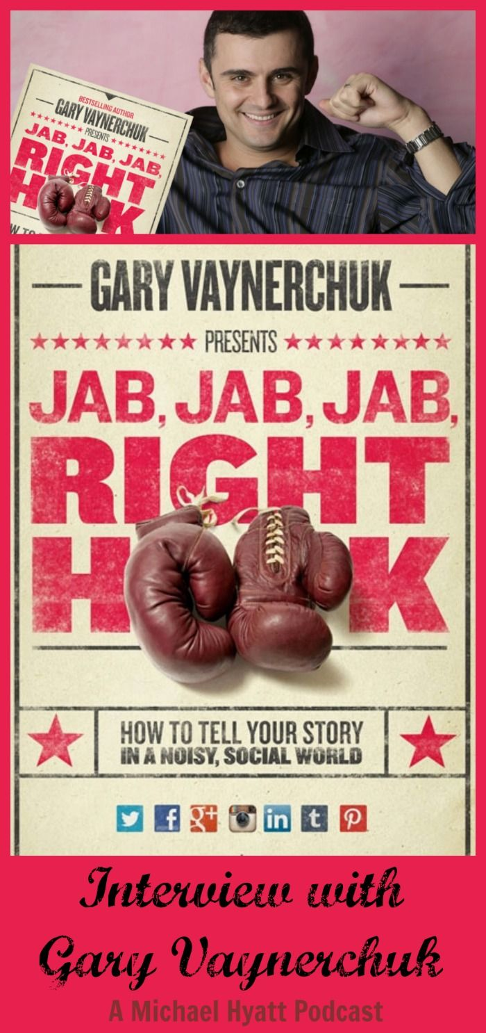 "Michael Hyatt interviews Gary Vaynerchuk about his new book and says it's ""one of the best social media books I have read in a long time."""