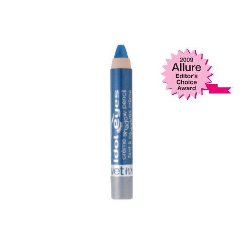 (3 Pack) WET N WILD Idol Eyes Cream Shadow - Electro. Soft blending, creamy eyeshadow at the convenience of a pencil. Silky smooth formula glides on easily for high impact, light infused color that lasts for hours.