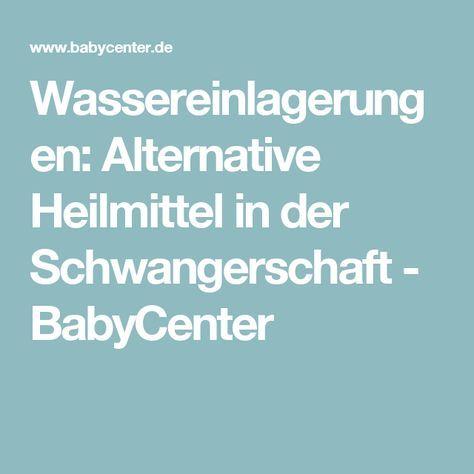 Wassereinlagerungen: Alternative Heilmittel in der Schwangerschaft - BabyCenter