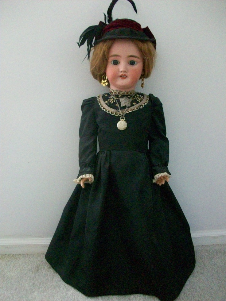 There was just something about this doll.  I just had to have her.  My bedroom was pink and black and she was the perfect fit.