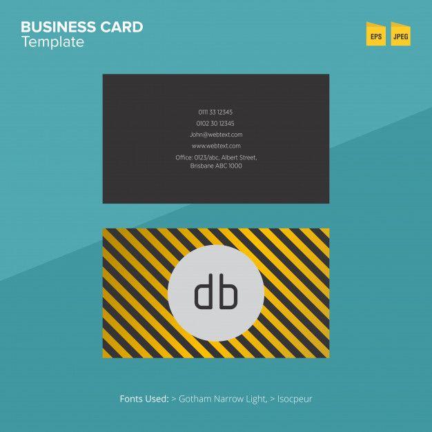 Modern Business Card Template Modern Business Cards Business Card Template Cards