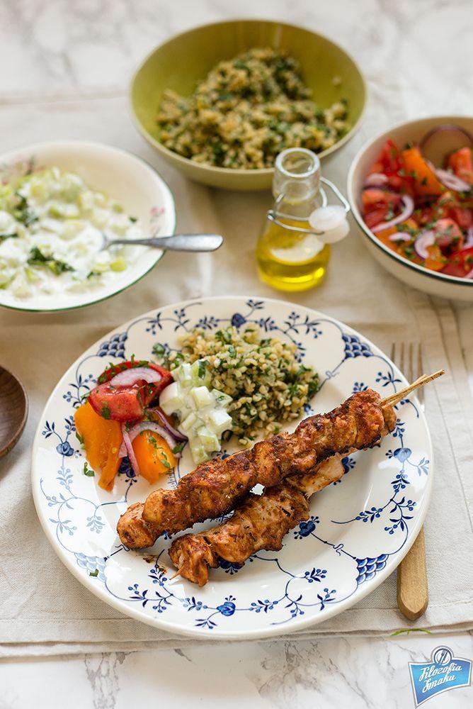 Szaszłyki z kurczaka po turecku/Şiş Tavuk