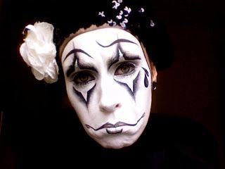letzmakeupblogcom halloween 11 pierrot sad clownmime - Mime For Halloween